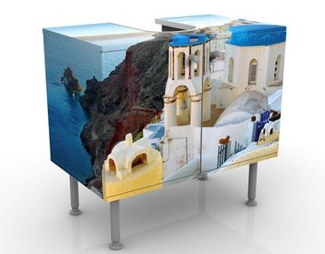 Product picture Design Vanity Santorini 60x55x35cm