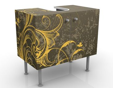Product picture Design Vanity Curlicues In Gold And...