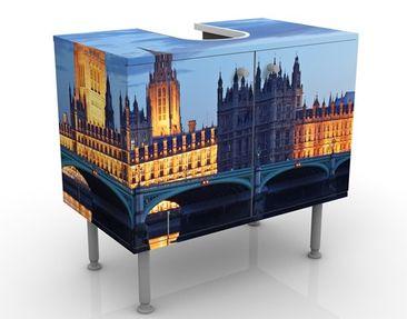 Immagine del prodotto Mobile per lavabo design London At Night 60x55x35cm
