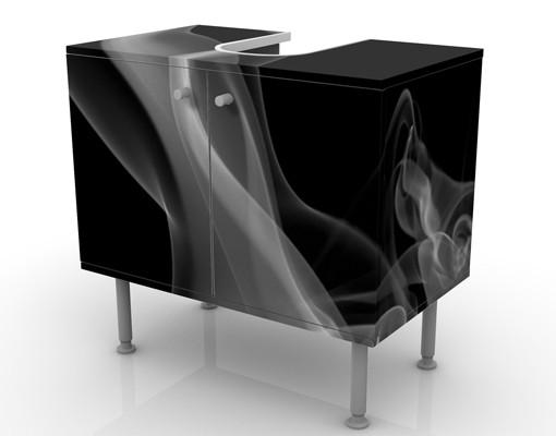Produktfoto Waschbeckenunterschrank - Silver Smoke -...