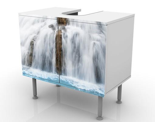 Produktfoto Waschbeckenunterschrank - Morgen im Paradies - Badschrank
