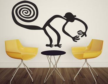 Product picture Wall Decal no.UL1040 Nazca Lines Monkey