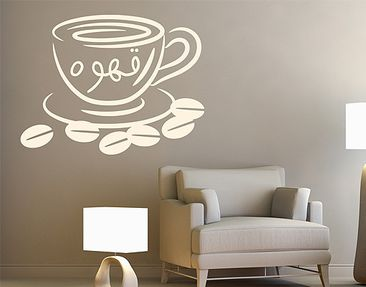 Produktfoto Wall Decal no.1424 Coffee 3