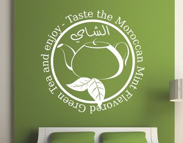 Produktfoto Wall Decal no.1428 Moroccan Tea