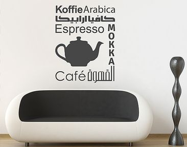 Produktfoto Wall Decal no.1427 Coffee Variants