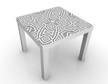 Immagine del prodotto Tavolino design Abstract Texture 55x55x45cm