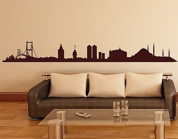 Product picture Wall Decal no.1436 Istanbul Skyline