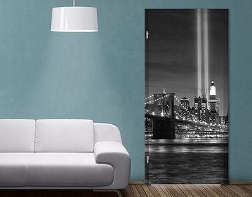 Produktfoto Selbstklebende Türtapete Gedenken an den 11. September II