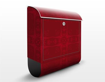 Product picture Design Letter Box Red Orient Ornament...