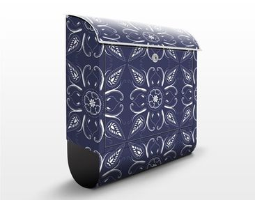 Product picture Design Letter Box Blue Bandhana...