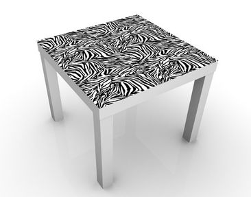 Produktfoto Design Table Zebra Pattern Design...