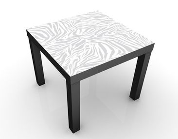 Product picture Design Table Zebra Design Lightgrey...