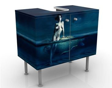 Product picture Design Vanity Nude With Fish 60x55x35cm