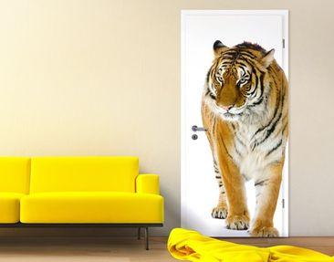 Produktfoto Selbstklebende Türtapete Indischer Tiger