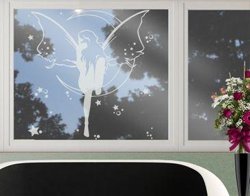 Produktfoto Fensterfolie - Fenstertattoo No.CA20 Feenkönigin - Milchglasfolie