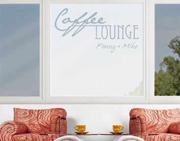 Immagine del prodotto Pellicole per vetri  no.CA27 Your Own Words Coffee Lounge II