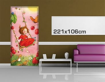 Product picture Door Photo Wall Mural Self Adhesive...