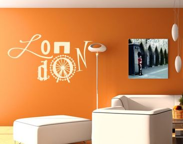 Product picture Wall Decal no.UL1054 Typo London