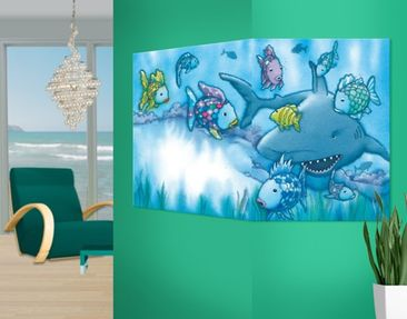 Produktfoto Corner Canvas Art he Rainbow Fish -...