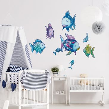 Product picture Wall Decal The Rainbow Fish - Underwater...