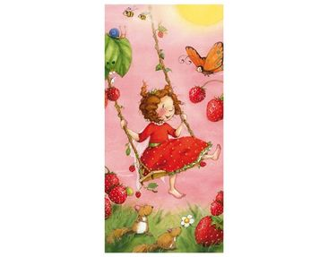 """Product picture Photo wall mural door no.201 """"STRAWBERRY..."""
