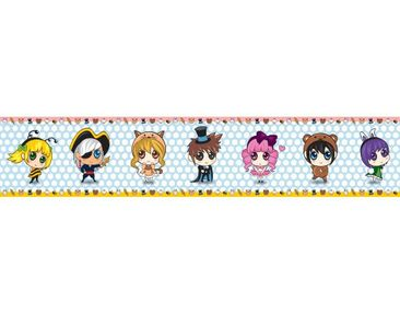 Product picture Wall Decal Bordure no.BP6 Sweet Chibi
