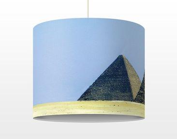 Produktfoto Pendelleuchte - Pyramids Of Gizeh - Lampe - Lampenschirm Blau