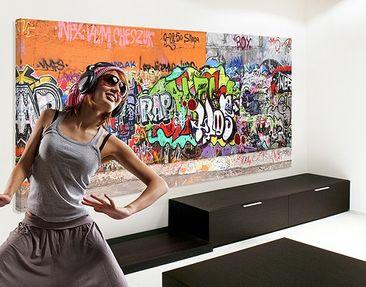 Produktfoto Canvas Art no.35 Graffiti 120x40 cm