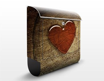 Product picture Design Letter Box Natural Love...