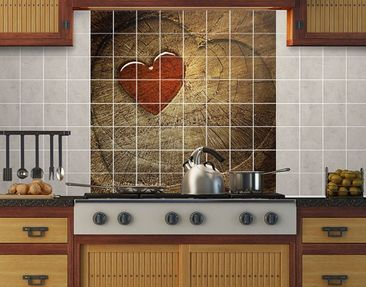 Produktfoto Tile Mural Natural Love