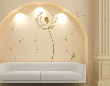 Produktfoto Wall Decal no.252 Dandelion Gold