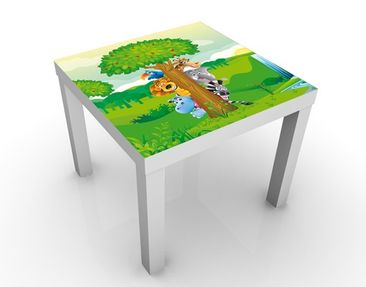 Immagine del prodotto Tavolino design no.BF1 Jungle Animals 55x55x45cm