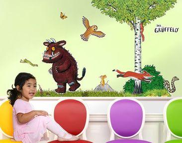 Produktfoto Der Grüffelo - Wandtattoo Babyzimmer Wald Grüffelo - Waldleben Sticker Set