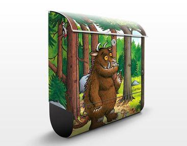 Produktfoto Der Grüffelo - Design Briefkasten Grüffelo - Waldspaziergang 39x46x13cm