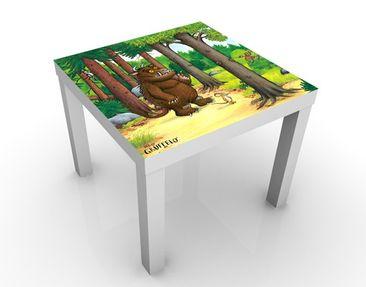 Produktfoto Der Grüffelo - Kindertisch Grüffelo - Waldspaziergang - Tisch Grün