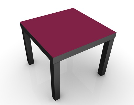 Produktfoto Design Tisch Colour Wine Red 55x55x45cm
