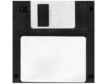 Product picture Design Table Floppy Disk Label...