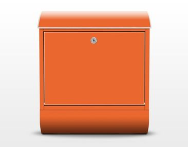Product picture Design Letter Box Colour Orange...