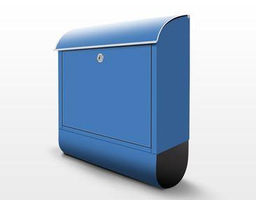 Product picture Design Letter Box Colour Royal Blue...