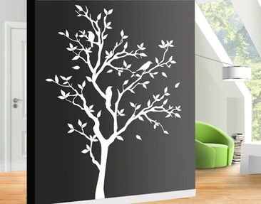 Product picture Wall Decal no.YK14 Chirping Tree