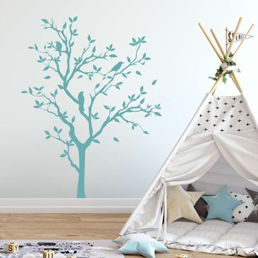 Produktfoto Wall Decal no.YK14 Chirping Tree