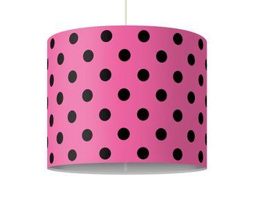 Produktfoto Pendelleuchte - No.DS92 Punktdesign Girly Pink - Lampe - Lampenschirm Rosa