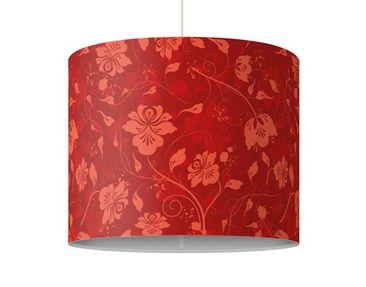 Produktfoto Pendelleuchte - The 12 Muses - Terpsichore - Lampe - Lampenschirm Rot