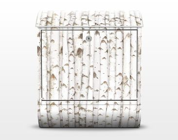 Product picture Design Letter Box no.YK15 Birch Wall...