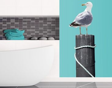 Product picture Wall Decal no.YK16 Curious Gull