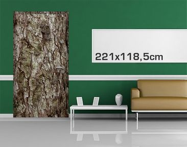 Product picture Door Photo Wall Mural no.YK17 Bark