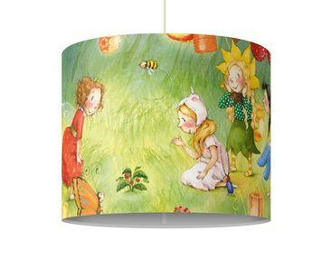 Produktfoto Pendelleuchte - Erdbeerinchen Erdbeerfee - Laternen - Lampe - Lampenschirm Grün