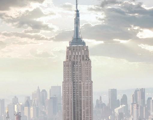 Produktfoto Wandbild - No.2 Sonnenaufgang in New York Schmal