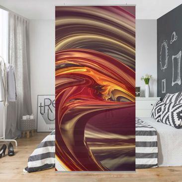 Produktfoto Raumteiler - Fantastic Burning 250x120cm
