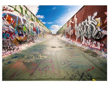 "Product picture Photo Wall Mural no.218 ""GRAFFITI HALF..."